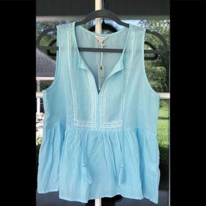 Lucky Brand Sleeveless Top. NWT. size M